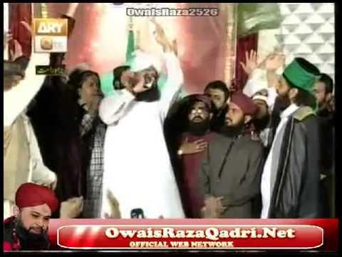 Mould ki Ghari hai | Hazrat Owais Raza Qadri Sb | Mehfil e Naat on Qtv 22 April 2013 Eidgha shareef
