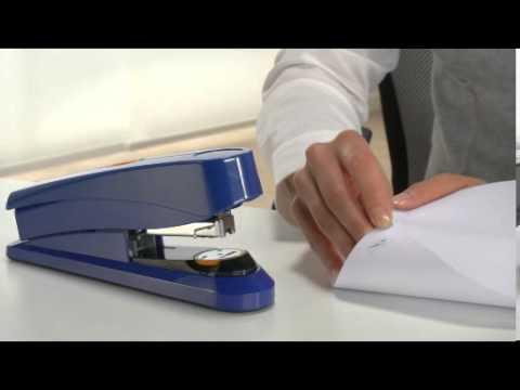 Flat-Clinch nietmachine Novus B 8FC Power on Demand in het gebruik
