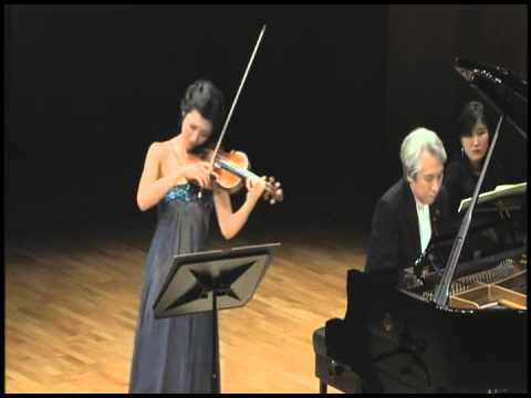 Fabiola Kim(Violin)&Dae Jin Kim(Piano) R. Strauss - Violin Sonata in E-flat major, Op. 18, Trv151