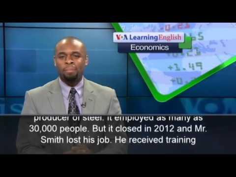 VOA Learning English | Economics | Free Trade Deals Raise Job Concerns | 18.06.2015