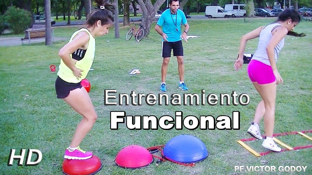 Entrenamiento funcional femenino youtube for Entrenamiento funcional
