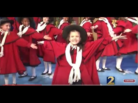 cast of madelines christmas talks about holiday musical - The Christmas Choir Cast