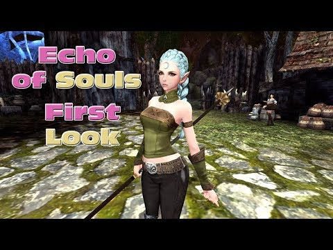 Echo Of Souls : Phoenix First Look - Character Creation And Early Gameplay - EOS