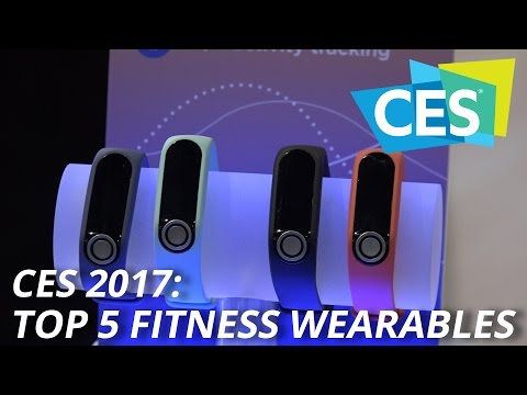 CES 2017: Top 5 Fitness Wearables
