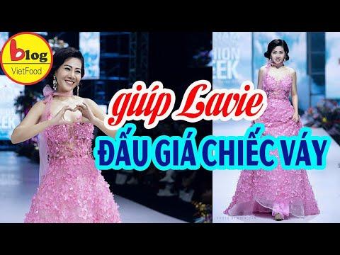 Bán đấu giá chiếc váy Mai Phương mặc - Dành tặng bé Lavie