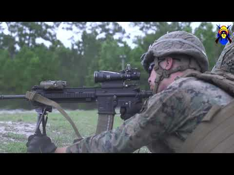 Isaak Competition Live Fire - LAR Marine Who Earned The Silver Star During Operation Just Cause
