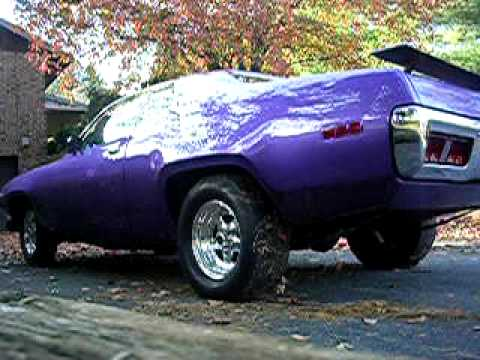 American Muscle Cars For Sale >> 71 Road Runner 440 six pack - YouTube