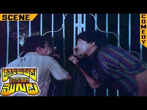 Chiranjeevi Entering into Womens Hostel | Attaku Yamudu Ammayiki Mogudu Movie | Vijayashanti