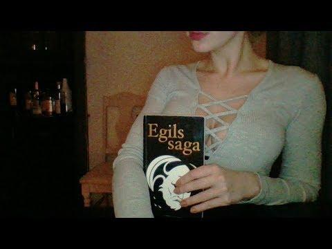 Icelandic ASMR* Reading The Ancient Icelandic Sagas* Find Your Inner Viking*