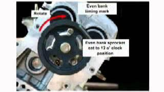 PART 1 Isuzu Rodeo Trooper 3.2 3.5 timing belt replacement