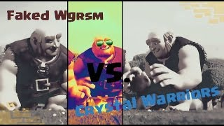 Clash of Clans|| CWL Week 5 Crystal Warriors Vs. Faked Wargasm