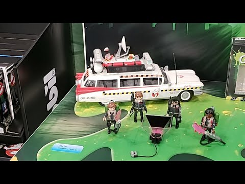Playmobil Ghostbusters At Ny Toy Fair 2019 Live Youtube