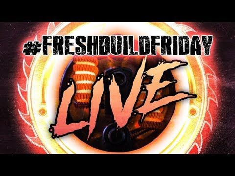 Fresh Build Friday LIVE! Getting Flavor From the Njord!