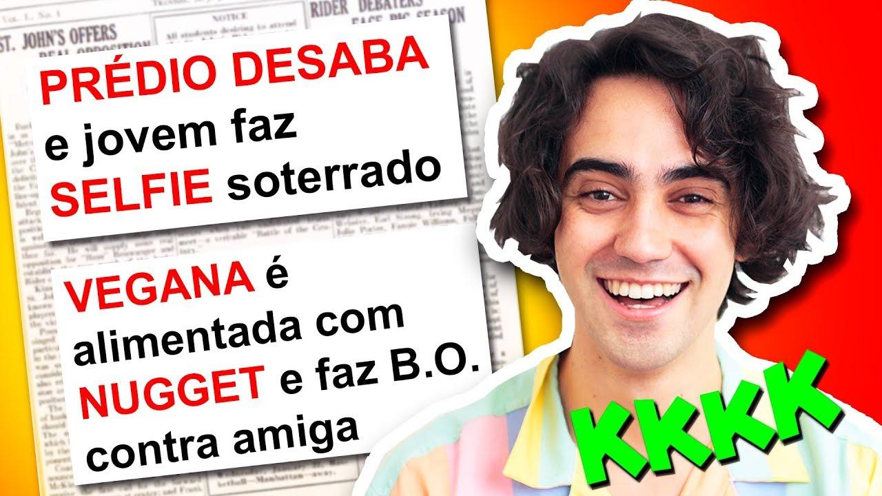 AS NOTÍCIAS MAIS ENGRAÇADAS DO BRASIL