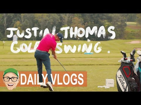 JUSTIN THOMAS GOLF SWING AND POWER MOVE