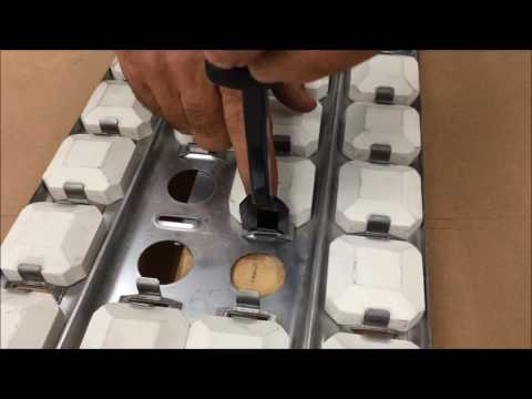 Briquette Clip Installation on a Lynx™ Professional Grill