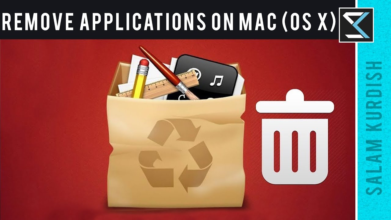 How to Completely Remove/Uninstall Applications on Mac (OS X) 2018 - No  Software -