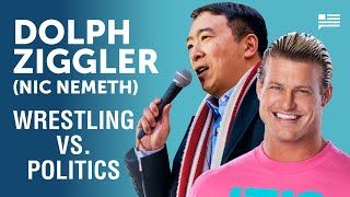 What do comedy, politics, & wrestling have in common? Nic Nemeth aka Dolph Ziggler joins Andrew Yang