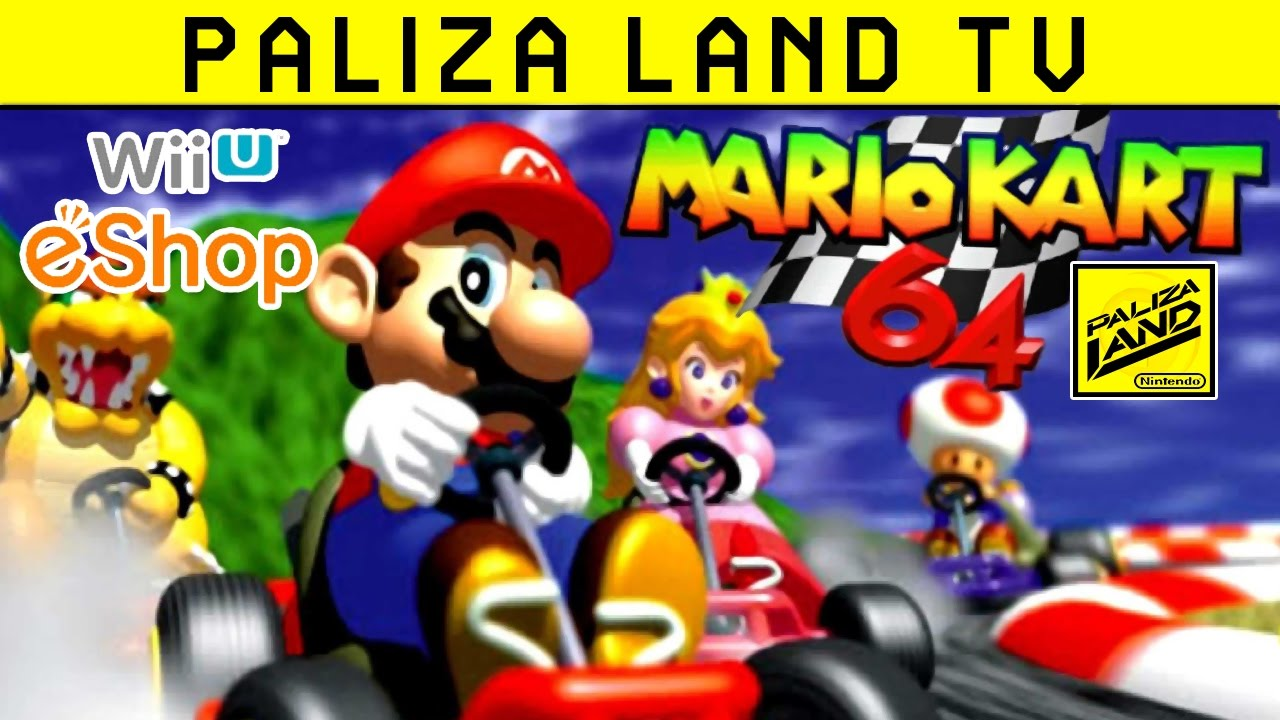 Mario Kart 64 Wii U Virtual Console Gameplay Eshop Eu Hd