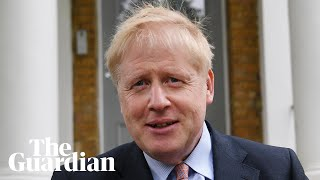 Boris Johnson launches Tory leadership campaign