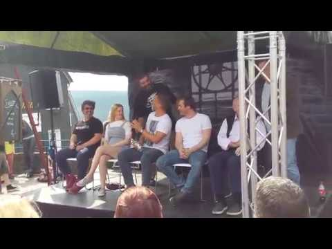 Tom Wlaschiha & Miltos Yerolemou-Game of Thrones Panel- Medieval Fantasy Convention in Solingen 2017
