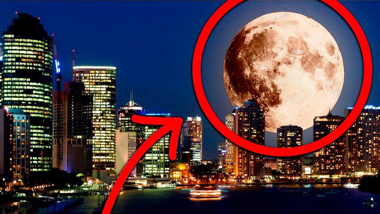 Super luna hoy la mas grande en 60 a os que pasara como for Que fase lunar hay hoy