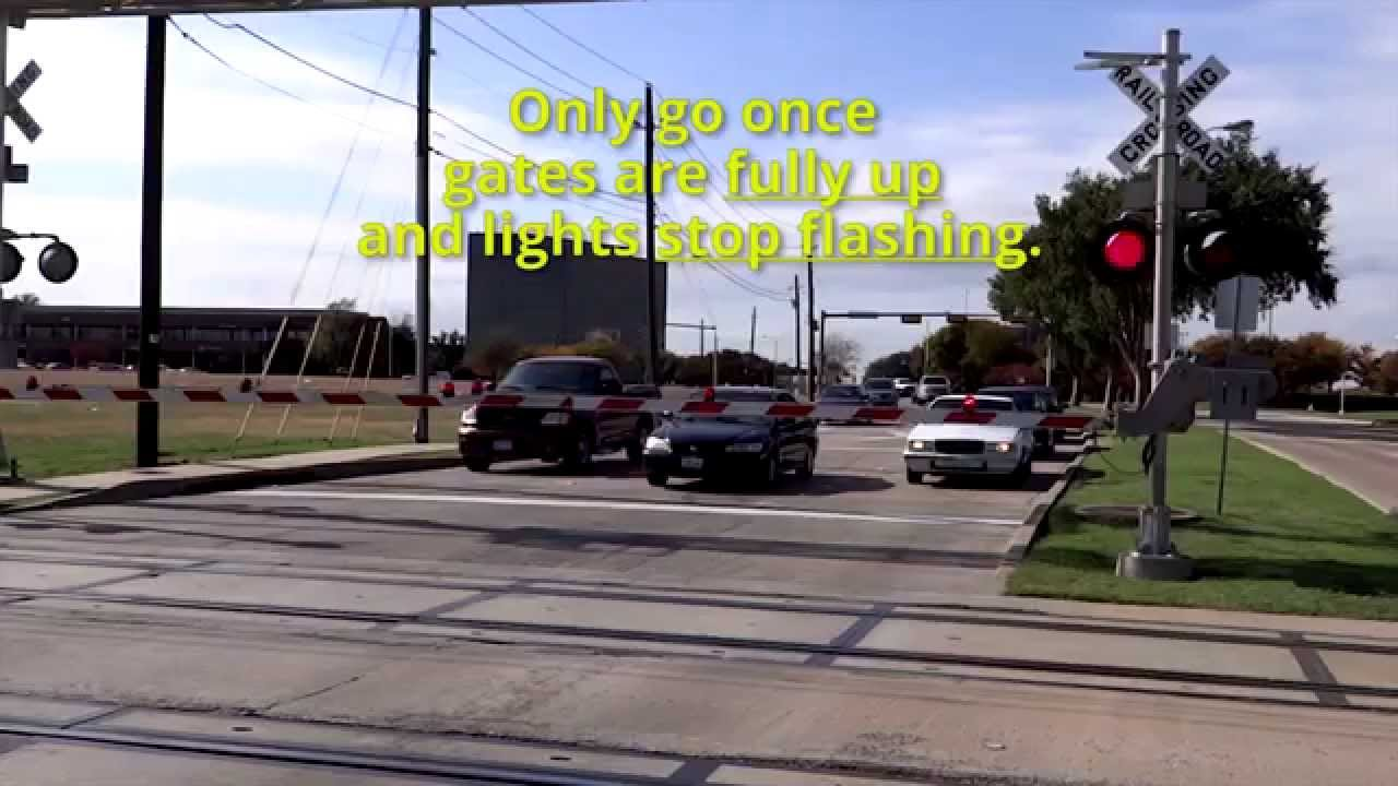 Railroad Crossing - Driving In Texas - Adult Course