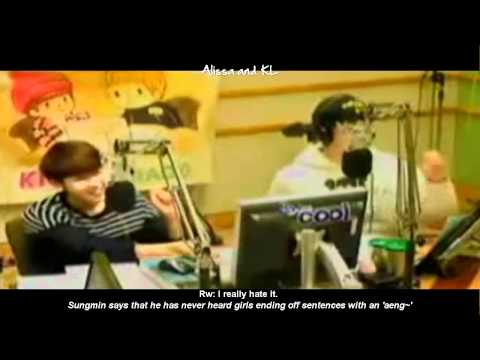 ENG Eunhyuk & Donghae use ridiculous aegyo on the dorms?! - EunHae