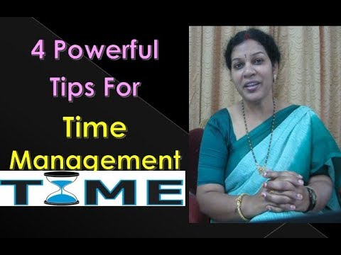 4 Powerful Tips For Time Management