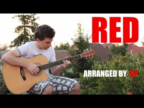 Taylor Swift - Red (fingerstyle guitar cover by Peter Gergely) [WITH TABS]