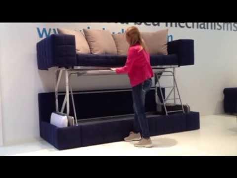 loiudice divano letto a castello mechanism coup bunk bed lit superpos giulio manzoni easy. Black Bedroom Furniture Sets. Home Design Ideas