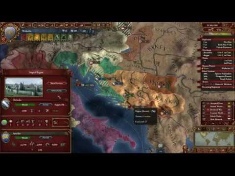 Europa Universalis IV Wallachia Road to Romania Episode 53 - Audio and Video issues no 1  