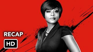 How To Get Away With Murder Season 1 Recap (HD)