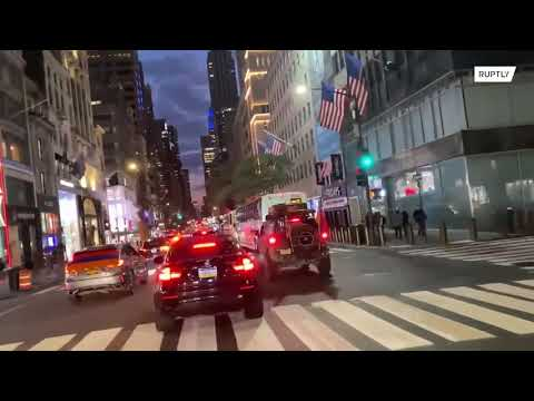USA: Pro-Armenia car protest hits Manhattan
