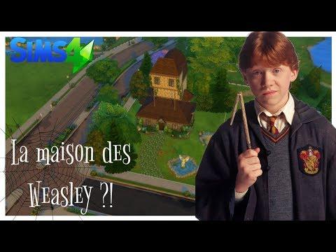 LA MAISON DES WEASLEY , SIMS 4