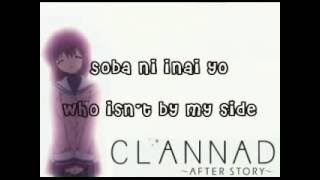 Clannad After Story OP FULL English & Japanese Lyrics