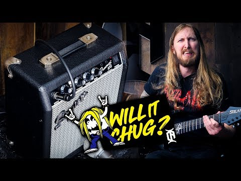WILL IT CHUG? - Squier Frontman G10