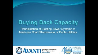 Webinar: Buying Back Capacity: Rehab of Existing Sewer Systems to Maximize Cost Effectiveness