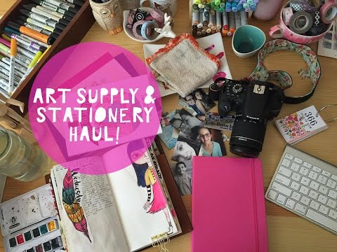 Collective Art Supply and Stationery Haul!
