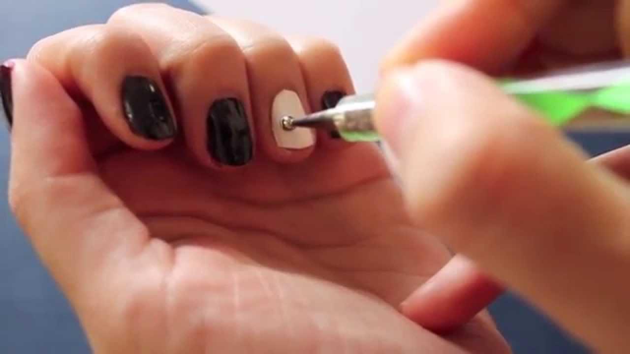 Basic Elephant Nail Design - YouTube