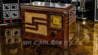 FADA Radio Receiver From 1937 Electronic Restoration! [Repair]