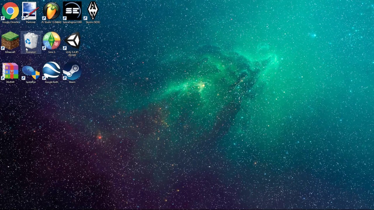 parallax nebula - wallpaper engine - youtube