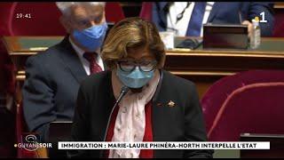 Immigration : Marie - Laure Phinéra - Horth Interpelle L'Etat
