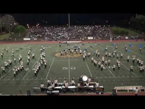 Mililani High School Trojan Marching Band 8/27/16