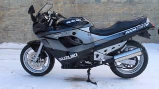Suzuki GSX-F750 1992 год. https://vk.com/motobaza_rostov(Только что растаможен из Европы,без пробега по России! ТЕСТ ДРАЙВ НА ПЛОЩАДКЕ! ПТС ЧИСТЫЙ!—перед приездом..., 2017-01-22T14:38:20.000Z)