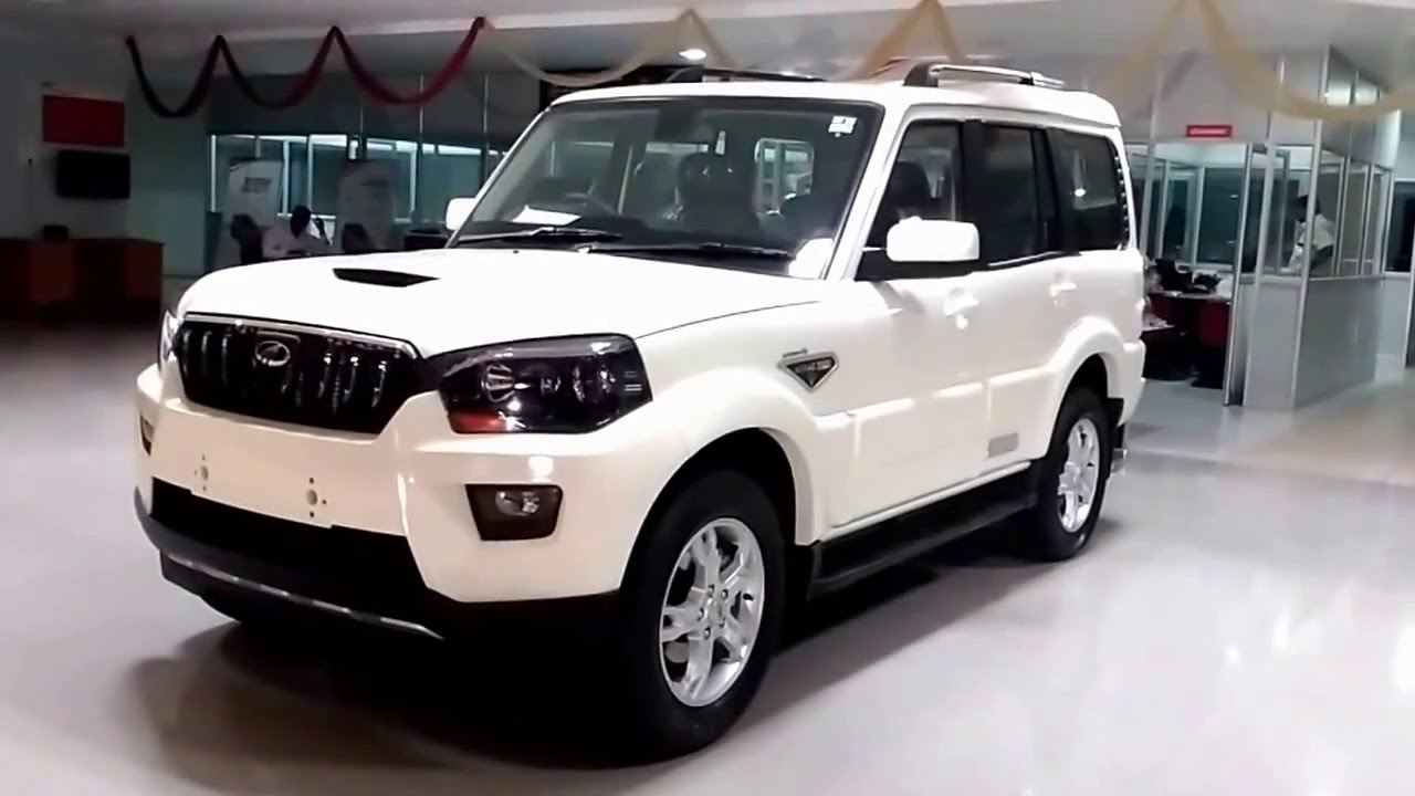 New Mahindra Scorpio 2016 First Look Over View Youtube