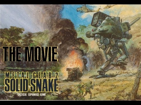 Metal Gear 2 - The Movie [HD] Full Story