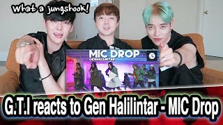 *REAKSI* Artis Korea Gen Halilintar / Korean reacts to Gen Halilintar - MIC Drop MV // 인도네시아 리액션