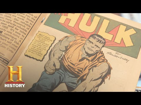 Pawn Stars: Original Incredible Hulk Issues #1-6, Signed by Stan Lee (Season 14) | History