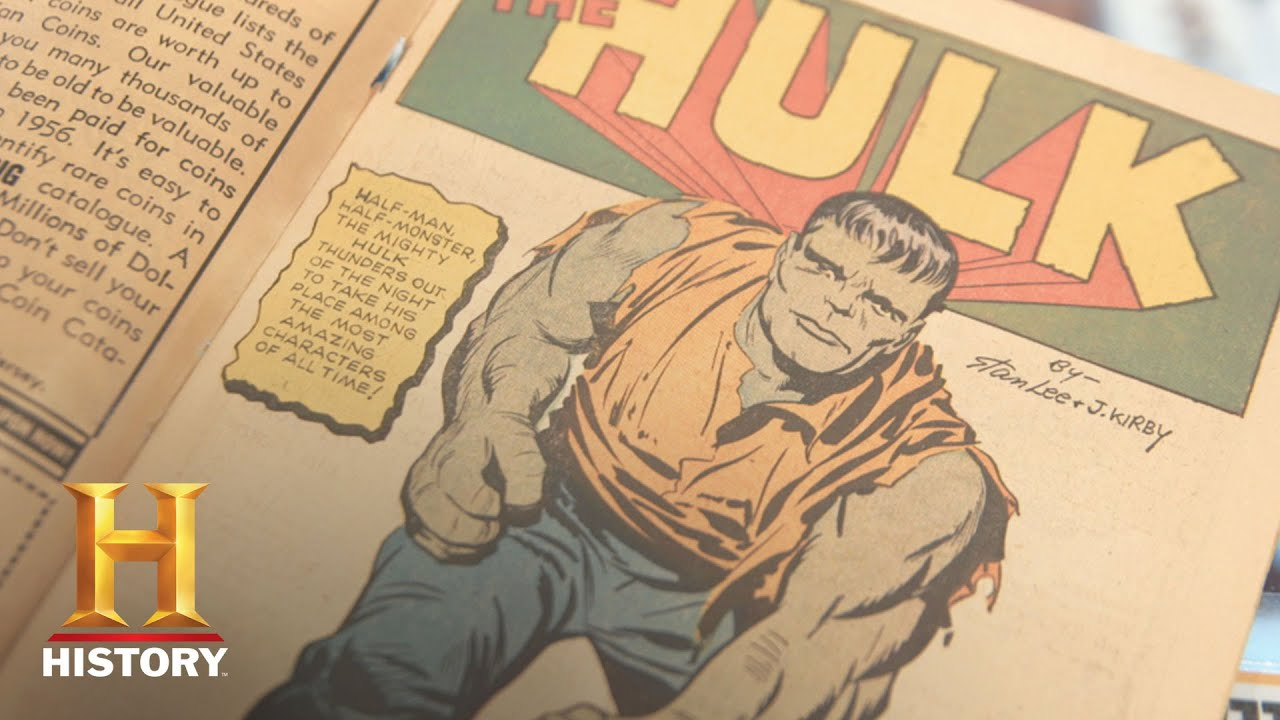 Download Pawn Stars: Original Incredible Hulk Issues #1-6, Signed by Stan Lee (Season 14)   History